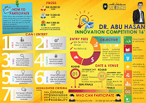 Poster Dr Abu Hasan Innovation Competition
